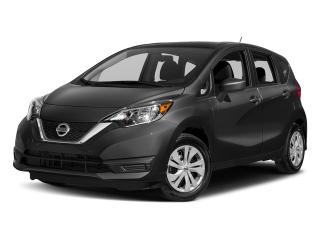 New 2018 Nissan Versa Note Hatchback 1.6 S CVT for sale in Mississauga, ON