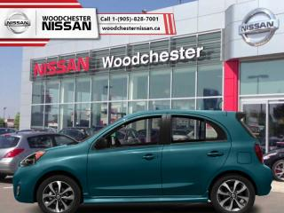 New 2018 Nissan Micra SV  - Bluetooth - $108.67 B/W for sale in Mississauga, ON