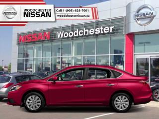 New 2018 Nissan Sentra 1.8 SV  - Bluetooth -  Heated Seats - $147.63 B/W for sale in Mississauga, ON
