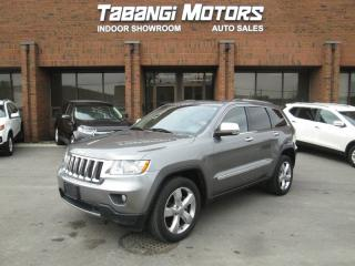 Used 2012 Jeep Grand Cherokee OVERLAND | NAVIGATION | NO ACCIDENTS | PANO ROOF | LEATHER for sale in Mississauga, ON