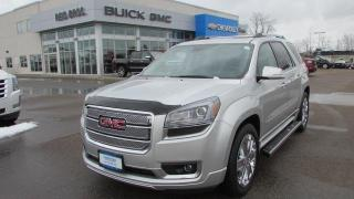 Used 2014 GMC Acadia Denali / $286.00 bi-weekly for 72 mths for sale in Arnprior, ON