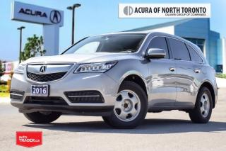 Used 2016 Acura MDX Navi Back-Up Camera|Bluetooth| Navigation for sale in Thornhill, ON