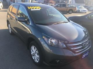 Used 2013 Honda CR-V EX,4WD for sale in St Catharines, ON
