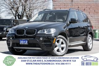 Used 2012 BMW X5 35i NAVI RearViewCam PanoRoof RunningBoards for sale in Scarborough, ON