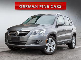 Used 2010 Volkswagen Tiguan 2.0 Comfortline*Panoramic Sunroof, *** for sale in Caledon, ON