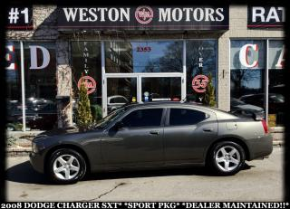 Used 2008 Dodge Charger SXT*SPORT PKG*DEALER MAINTAINED!!* for sale in York, ON