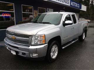 Used 2012 Chevrolet Silverado 1500 LT Ext. Cab for sale in Parksville, BC