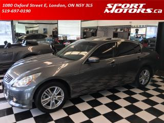 Used 2011 Infiniti G37X  Luxury! New Brakes+4 Winter Tires! Xenons! Camea! for sale in London, ON