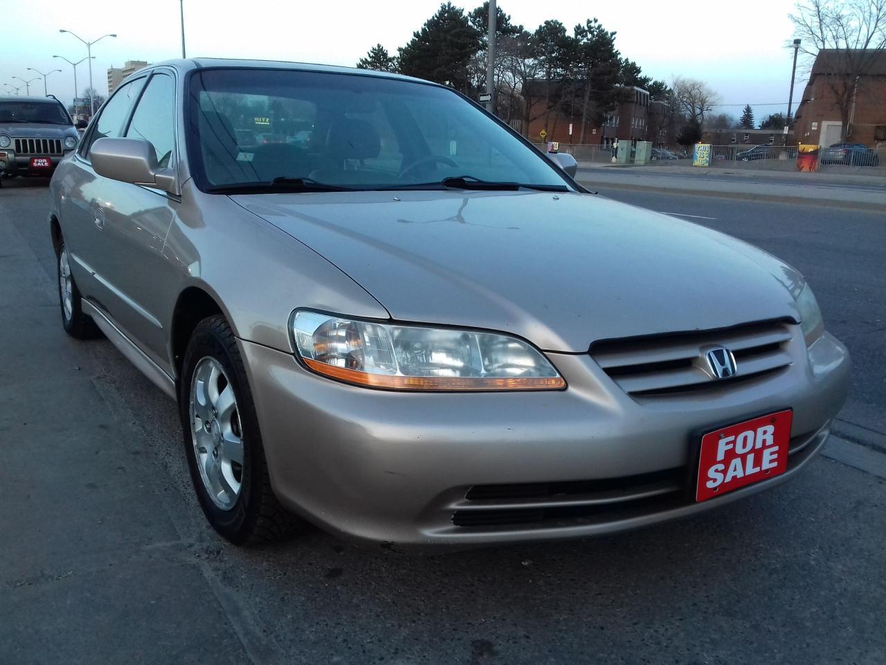 2002 Honda Accord EX - $2500 CERTIFIED