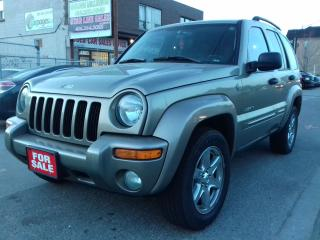 Used 2004 Jeep Liberty 2004 JEEP LIBERTY $3995 for sale in Scarborough, ON