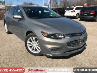 Used 2017 Chevrolet Malibu LT w/1LT | ONE OWNER | CAM | BLUETOOTH for sale in London, ON