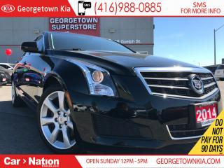 Used 2014 Cadillac ATS 2.0L Turbo | LEATHER | HEATED SEATS | BOSE SYSTEM for sale in Georgetown, ON