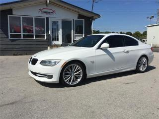 Used 2011 BMW 3 Series 335i RED INTERIOR for sale in Burlington, ON
