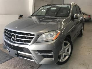 Used 2014 Mercedes-Benz ML-Class ML 350 BlueTEC for sale in Burlington, ON