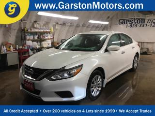 Used 2016 Nissan Altima S*PHONE CONNECT*BACK UP CAMERA*KEYLESS ENTRY w/REMOTE START*HEATED FRONT SEATS*POWER DRIVER SEAT* for sale in Cambridge, ON