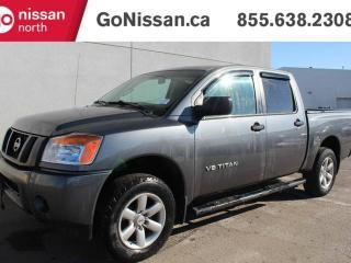 Used 2014 Nissan Titan S 4x4 Crew Cab SWB for sale in Edmonton, AB