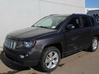 Used 2015 Jeep Compass 4x4, leather, big 7inch screen, for sale in Edmonton, AB