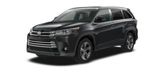 New 2018 Toyota Highlander LIMITED  for sale in Renfrew, ON