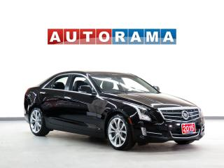 Used 2015 Cadillac ATS NAVIGATION LEATHER SUNROOF 4WD ALLOYS for sale in North York, ON