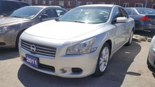 Used 2011 Nissan Maxima 3.5 SV/Sunroof/Leather/Start Button/Bluetooth for sale in Scarborough, ON