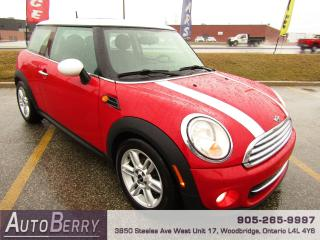 Used 2011 MINI Cooper 1.6L - Pano Roof - 6 Speed for sale in Woodbridge, ON