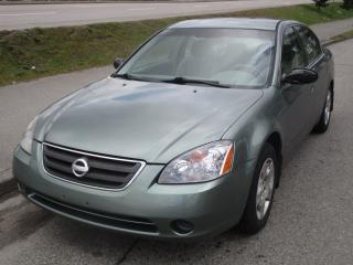 Used 2002 Nissan Altima S for sale in Surrey, BC