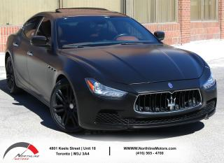Used 2015 Maserati Ghibli S Q4|Brown Interior|Navigation|Sunroof|Backup|AWD for sale in North York, ON