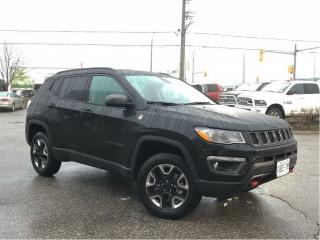 Used 2018 Jeep Compass Trailhawk*DEMO W/ONLY 1200 KMS ON IT for sale in Mississauga, ON