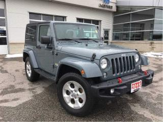 Used 2015 Jeep Wrangler SAHARA**NAVIGATION**TRAILER TOW GROUP** for sale in Mississauga, ON
