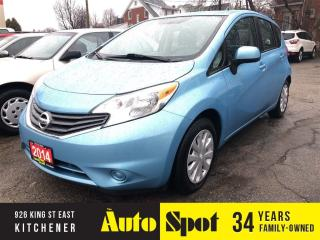 Used 2014 Nissan Versa Note SV/LOW,LOW KMS/PRICED-QUICK SALE ! for sale in Kitchener, ON