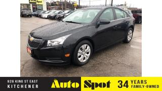 Used 2014 Chevrolet Cruze 1LT/STD/LOW, LOW KMS/PRICED-QUICK SALE! for sale in Kitchener, ON