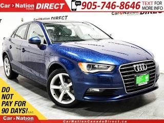 Used 2015 Audi A3 2.0 TDI Komfort| SUNROOF| WE WANT YOUR TRADE| for sale in Burlington, ON