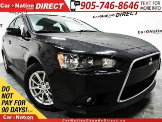 Used 2015 Mitsubishi Lancer Sportback Limited Edition| SUNROOF| RARE| for sale in Burlington, ON