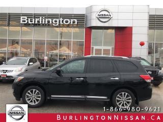 Used 2016 Nissan Pathfinder SL, NAVIGATION, ACCIDENT FREE ! for sale in Burlington, ON