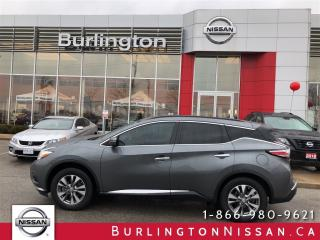 Used 2015 Nissan Murano SV, NAVIGATION, ACCIDENT FREE ! for sale in Burlington, ON
