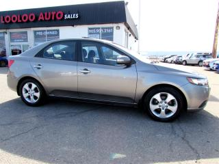 Used 2010 Kia Forte EX SUNROOF BLUETOOTH CERTIFIED 2YR WARRANTY for sale in Milton, ON