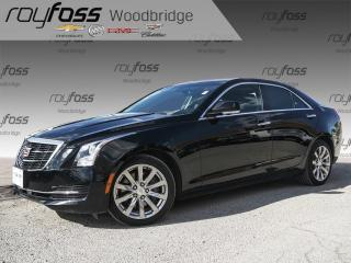Used 2017 Cadillac ATS 2.0L Turbo BOSE, NAV, SUNROOF, BACK CAM for sale in Woodbridge, ON