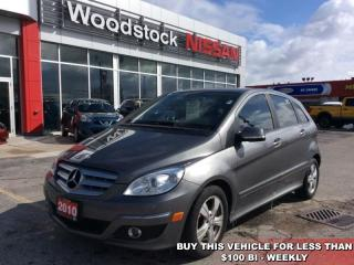 Used 2010 MERCEDES BENZ B-Class B200  - $79.58 B/W for sale in Woodstock, ON