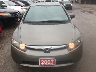 Used 2007 Honda Civic Sdn DX-G for sale in Kitchener, ON