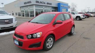 Used 2014 Chevrolet Sonic LS / $79.00 bi-weekly for 72 mths for sale in Arnprior, ON
