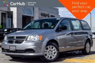 New 2018 Dodge Grand Caravan New Car CVP|Pwr.Options|Trac.Cntrl|Keyless_Entry|Dual_Climate for sale in Thornhill, ON