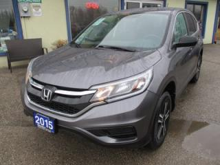Used 2015 Honda CR-V LOADED LX MODEL 5 PASSENGER 2.4L - DOHC.. AWD.. HEATED SEATS.. CD/AUX/USB INPUT.. BACK-UP CAMERA.. ECON-BOOST.. for sale in Bradford, ON