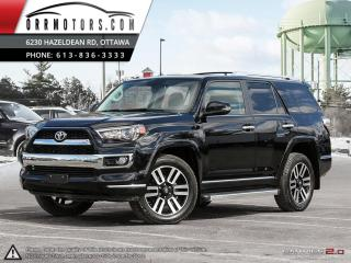 Used 2015 Toyota 4Runner LIMITED 4WD V6 for sale in Stittsville, ON