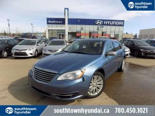 Used 2011 Chrysler 200 LIMITED/NAV/LEATHER/SUNROOF for sale in Edmonton, AB