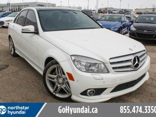 Used 2010 Mercedes-Benz C-Class C350/LEATHER/PANOROOF/POWERFOLDMIRRORS/HEATEDSEATS for sale in Edmonton, AB