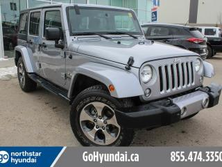 Used 2016 Jeep Wrangler Unlimited SAHARA/HARDTOP/AUTO/ALLOYS for sale in Edmonton, AB