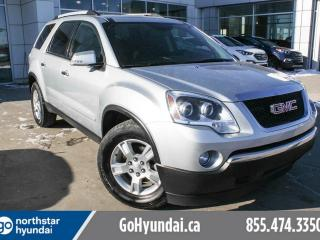 Used 2012 GMC Acadia SLE 6PASS/AWD/BACKUPCAM for sale in Edmonton, AB