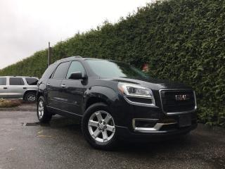 Used 2015 GMC Acadia SLE2 AWD + 7 PASS + DUAL SUNROOF + BACK-UP CAMERA + HEATED FT SEATS for sale in Surrey, BC