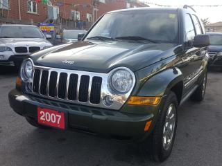 Used 2007 Jeep Liberty LOW KM/4x4/Sunroof/Alloys/Extra Clean for sale in Scarborough, ON