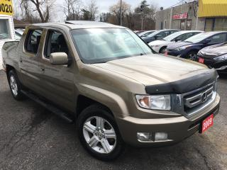 Used 2009 Honda Ridgeline EX-L/AWD/LEATHER/SUNROOF/ALLOYS/DRIVES NEW for sale in Scarborough, ON